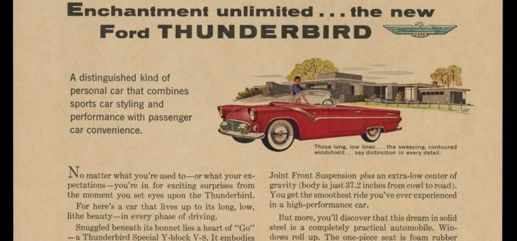 What Makes a T-Bird so Enchanting Anyway?